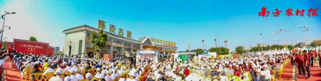第五届中国·新会陈皮文化节开幕式现场
